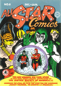 Cover Thumbnail for All-Star Comics #8 [First Appearance: Wonder Woman Action Figure] (DC, 2004 series) #[nn]