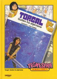 Cover Thumbnail for Tegneseriebokklubben (Hjemmet / Egmont, 1985 series) #76 - Torgal: Gutten fra stjernene; Ole, Dole og Doffen på eventyr: Jakten på den forsvunne lampen