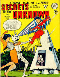 Cover Thumbnail for Secrets of the Unknown (Alan Class, 1962 series) #104