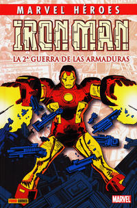 Cover Thumbnail for Coleccionable Marvel Héroes (Panini España, 2010 series) #5 - Iron Man: La 2ª Guerra de las Armaduras
