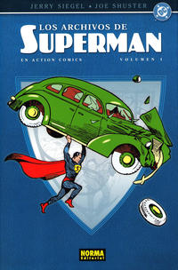 Cover Thumbnail for Clásicos DC (NORMA Editorial, 2004 series) #6 - Los Archivos de Superman en Action Comics Volumen 1