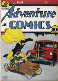 Cover Thumbnail for Adventure Comics (DC, 1938 series) #58 [With Canadian Price]