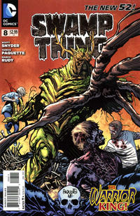 Cover Thumbnail for Swamp Thing (DC, 2011 series) #8