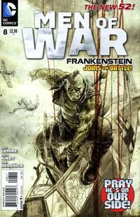 Cover Thumbnail for Men of War (DC, 2011 series) #8