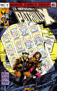 Cover Thumbnail for Marvel Gold. La Imposible Patrulla-X (Panini España, 2011 series) #2 - Días del Futuro Pasado