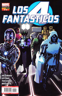 Cover Thumbnail for Los 4 Fantásticos (Panini España, 2008 series) #51