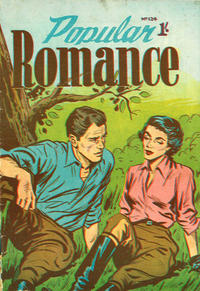 Cover for Popular Romance (H. John Edwards, 1950 ? series) #124