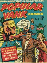 Cover Thumbnail for Popular Yank Comics (Magazine Management, 1953 ? series) #4