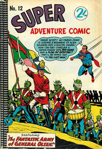 Cover Thumbnail for Super Adventure Comic (K. G. Murray, 1960 series) #12