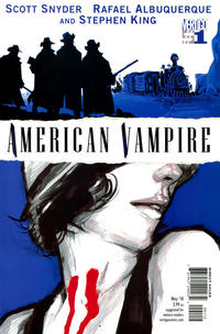 Cover Thumbnail for American Vampire (DC, 2010 series) #1 [2nd Print]