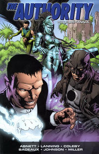 Cover Thumbnail for The Authority: Rule Britannia (DC, 2010 series)
