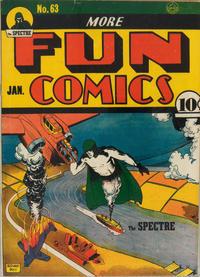 Cover Thumbnail for More Fun Comics (DC, 1936 series) #63