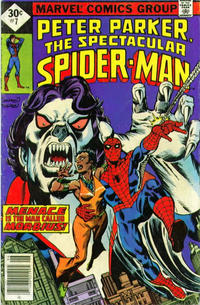 Cover Thumbnail for The Spectacular Spider-Man (Marvel, 1976 series) #7
