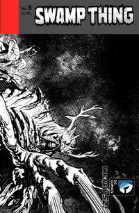Cover Thumbnail for Swamp Thing (DC, 2011 series) #8 [Yanick Paquette Variant Sketch Cover]