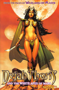 Cover Thumbnail for Dejah Thoris and the White Apes of Mars (Dynamite Entertainment, 2012 series) #1 [Cover A - Brandon Peterson]