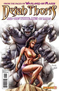Cover Thumbnail for Dejah Thoris and the White Apes of Mars (Dynamite Entertainment, 2012 series) #1 [Cover B - Alé Garza]