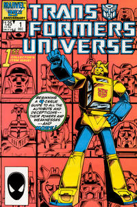 Cover Thumbnail for The Transformers Universe (Marvel, 1986 series) #1 [Direct Edition]