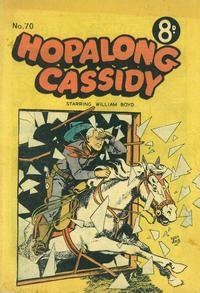 Cover Thumbnail for Hopalong Cassidy (K. G. Murray, 1954 series) #70