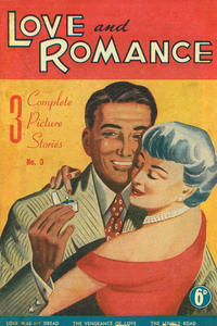 Cover Thumbnail for Love and Romance (Frew Publications, 1951 series) #3