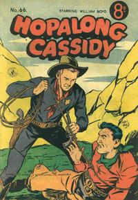 Cover Thumbnail for Hopalong Cassidy (K. G. Murray, 1954 series) #66