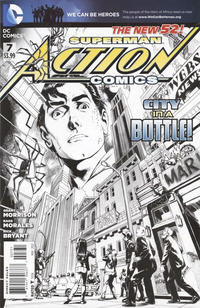 Cover Thumbnail for Action Comics (DC, 2011 series) #7 [1:200 Incentive Cover Edition]