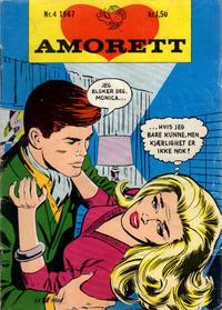 Cover Thumbnail for Amorett (Serieforlaget / Se-Bladene / Stabenfeldt, 1966 series) #4/1967