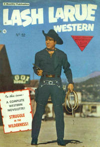 Cover Thumbnail for Lash Larue Western (L. Miller & Son, 1950 series) #52