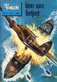 Cover Thumbnail for På Vingene (Serieforlaget / Se-Bladene / Stabenfeldt, 1963 series) #15/1963