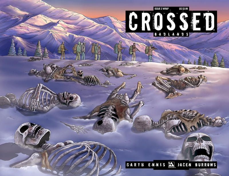 Cover for Crossed Badlands (Avatar Press, 2012 series) #2 [Incentive Retailer Bonus Cover - Jacen Burrows]