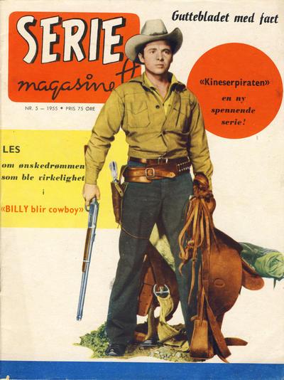 Cover for Seriemagasinet (Serieforlaget / Se-Bladene / Stabenfeldt, 1951 series) #5/1955