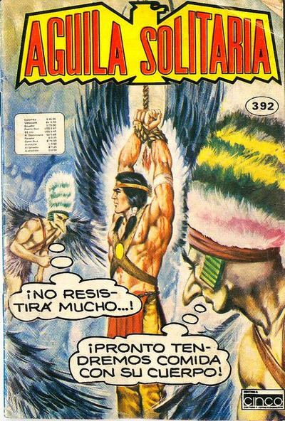 Cover for Aguila Solitaria (Editora Cinco, 1976 ? series) #392