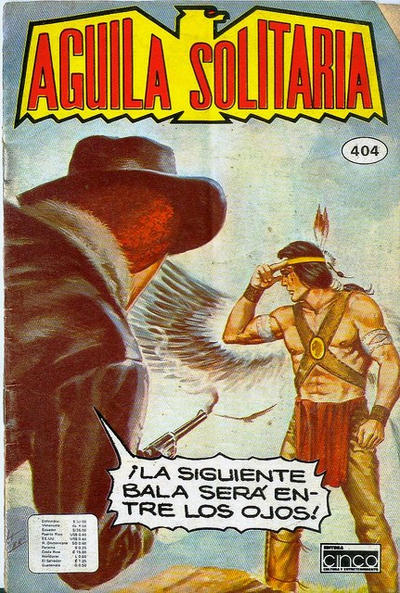Cover for Aguila Solitaria (Editora Cinco, 1976 ? series) #404