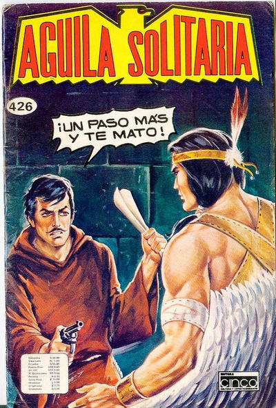 Cover for Aguila Solitaria (Editora Cinco, 1976 ? series) #426