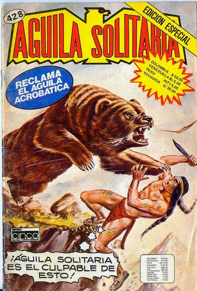 Cover for Aguila Solitaria (Editora Cinco, 1976 ? series) #428