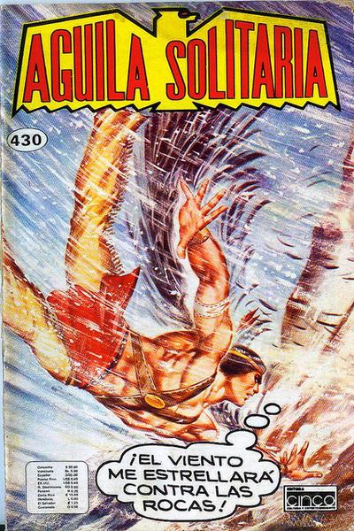 Cover for Aguila Solitaria (Editora Cinco, 1976 ? series) #430