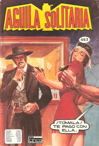 Cover for Aguila Solitaria (Editora Cinco, 1976 ? series) #463