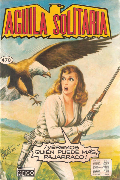 Cover for Aguila Solitaria (Editora Cinco, 1976 ? series) #470
