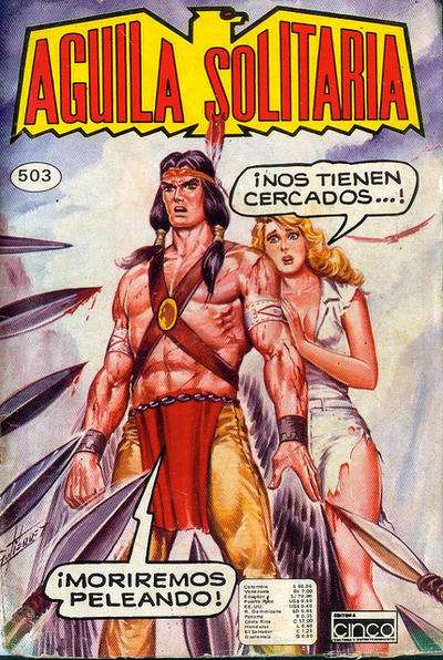Cover for Aguila Solitaria (Editora Cinco, 1976 ? series) #503