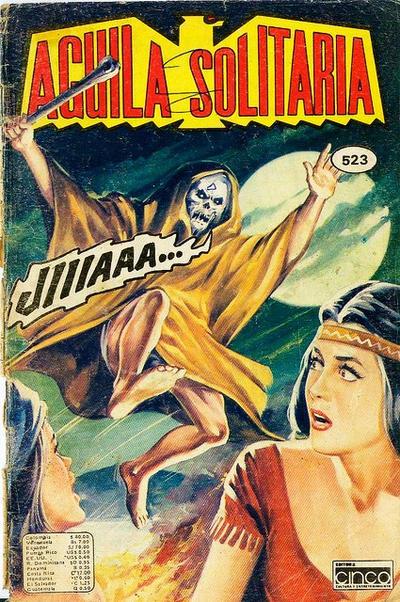 Cover for Aguila Solitaria (Editora Cinco, 1976 ? series) #523