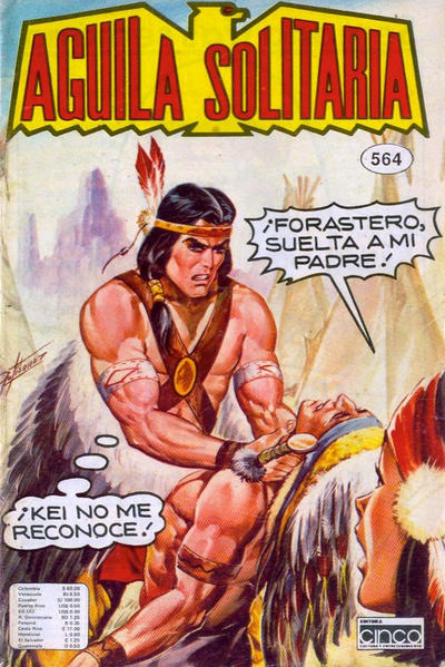 Cover for Aguila Solitaria (Editora Cinco, 1976 ? series) #564