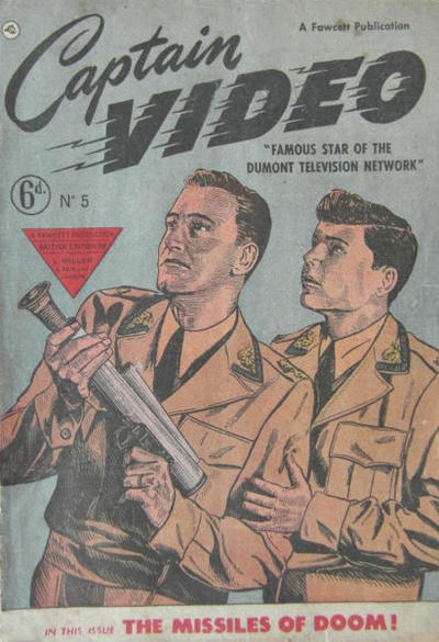Cover for Captain Video (L. Miller & Son, 1951 series) #5