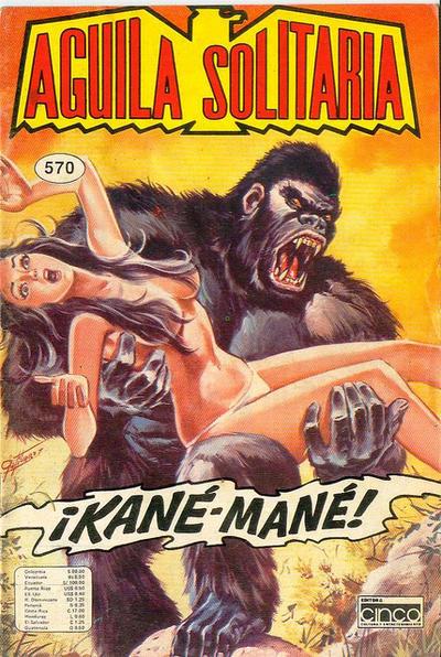 Cover for Aguila Solitaria (Editora Cinco, 1976 ? series) #570