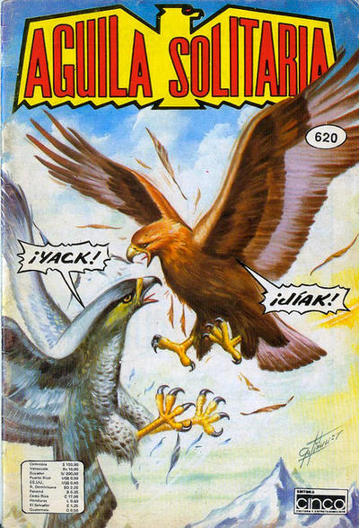 Cover for Aguila Solitaria (Editora Cinco, 1976 ? series) #620