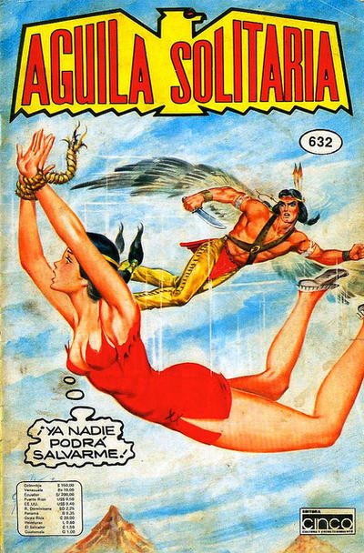 Cover for Aguila Solitaria (Editora Cinco, 1976 ? series) #632