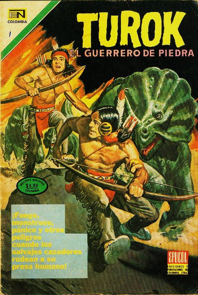 Cover for Turok El Guerrero De Piedra (Epucol, 1976 ? series) #1