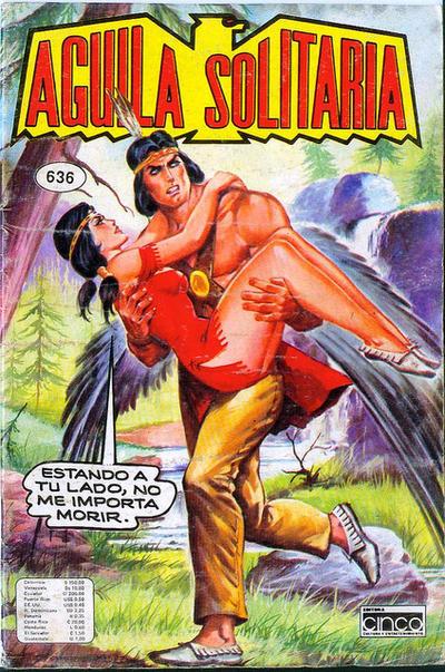 Cover for Aguila Solitaria (Editora Cinco, 1976 ? series) #636