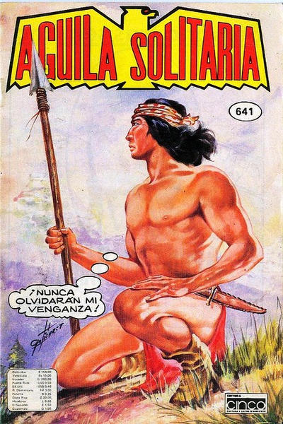 Cover for Aguila Solitaria (Editora Cinco, 1976 ? series) #641
