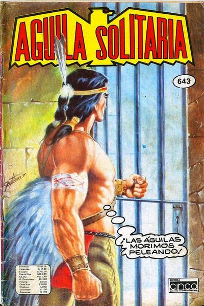 Cover for Aguila Solitaria (Editora Cinco, 1976 ? series) #643