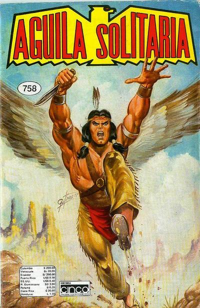 Cover for Aguila Solitaria (Editora Cinco, 1976 ? series) #758