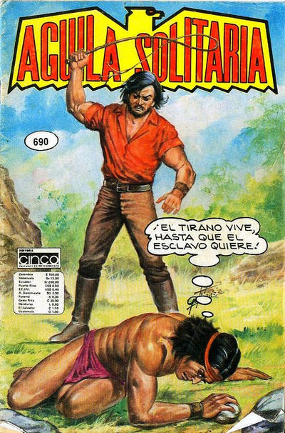 Cover for Aguila Solitaria (Editora Cinco, 1976 ? series) #690